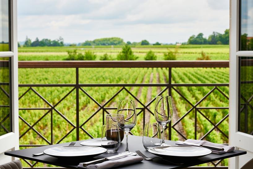 Salle-Restaurant-Margaux-Au-Marquis-de-terme-Grégory-Coutanceau